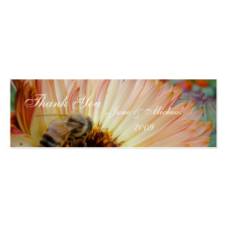 Shades of Honey Mini Business Card