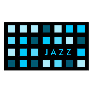 shades of jazz business card