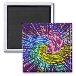 Shades of Life Force 2 Inch Square Magnet