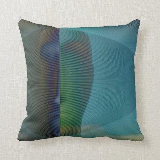 Shades of man 1 throw pillow