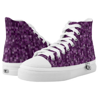 Shades Of Medium Orchid High-Top Sneakers