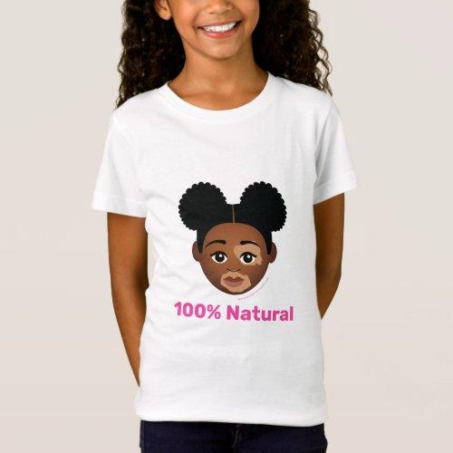 Shades of Melanin 100 Natural T_Shirt