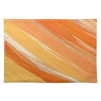 Shades of Orange Cloth Placemat