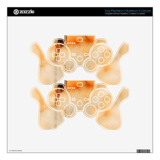 Shades of orange PS3 controller decal