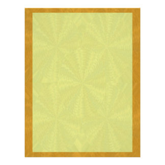 Shades of Orange  Yellow - add your words n image Letterhead
