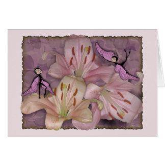 Shades of Pink Mauve_ Card