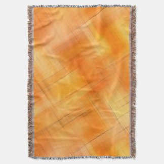 Shades Of Plaid Abstract Pattern Throw Blanket