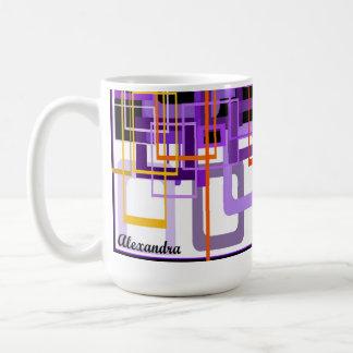 Shades of Purple by Alexandra Coffee Mug