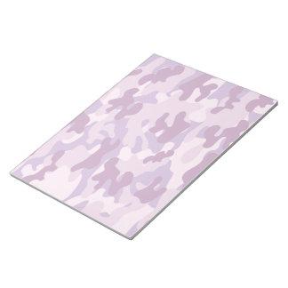 Shades of Purple Camo Notepad