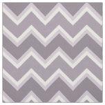 Shades of Purple Chevron Striped Fabric