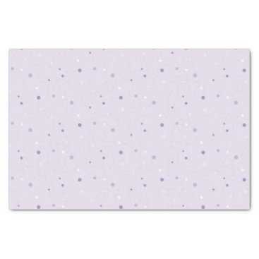 Halloween Themed shades of purple dots tissue paper