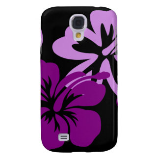 Shades of Purple Hibiscus Galaxy S4 Cover