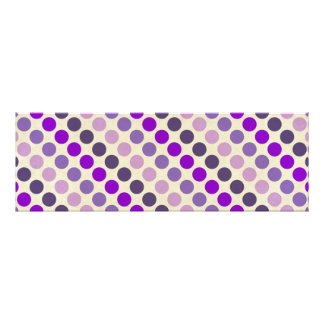 Shades Of Purple Polka Dots Photo Print