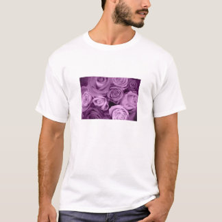 Shades of Purple Roses T-Shirt