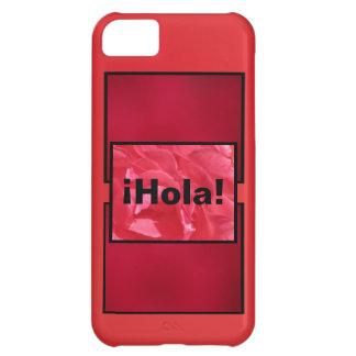 Shades Of Red And Pink iPhone 5C Case