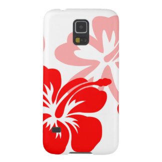 Shades of Red Hibiscus Galaxy S5 Case