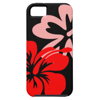Shades of Red Hibiscus iPhone SE/5/5s Case