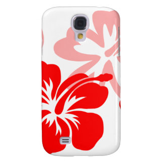 Shades of Red Hibiscus Samsung Galaxy S4 Cover