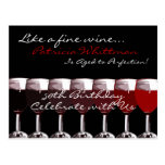 Shades of Red Invitation Post Cards