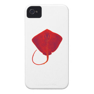 SHADES OF RED iPhone 4 Case-Mate CASE