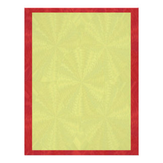 Shades of Red Yellow - add your words n image Letterhead