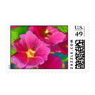 Shades of Rose Stamps
