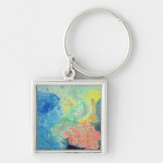 Shades of Sleep pastel on paper Key Chain