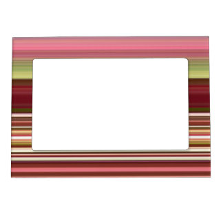 Shades of Stripes Magnetic Photo Frame
