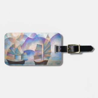 Shades of Tranquility Bag Tag