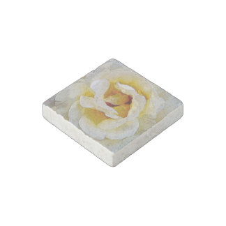 shades of white to yellow stone magnet