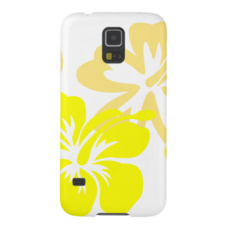 Shades of Yellow Hibiscus Case For Galaxy S5