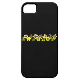 Shades of Yellow Hibiscus iPhone SE/5/5s Case