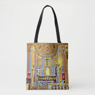 88d73d31881c Shades of Yellow Periwinkle Artistic Sanctuary Tote Bag