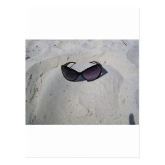 Shades on the Beach Postcard