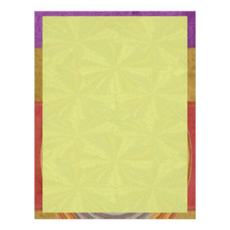 Shades Yellow - add your words n image Letterhead