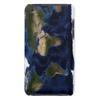 Shading topográfico y batimétrico de la tierra barely there iPod protector