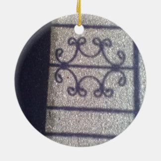 Shadow and asphalt christmas ornaments