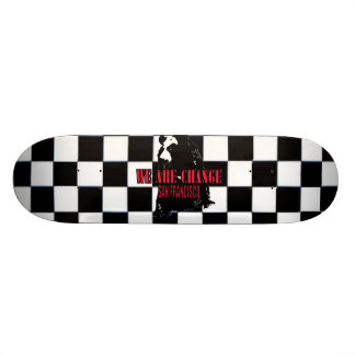 Shadow Bear SF Skateboard Deck