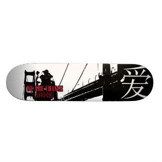 Shadow Bear SF WAC GG Skateboard Deck