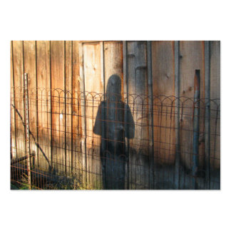 Shadow Being Large Business Cards (Pack Of 100)