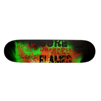 Shadow board skate deck