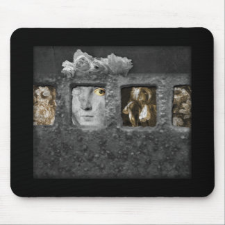 Shadow Box Digital Collage by A E Ivey Mousepad