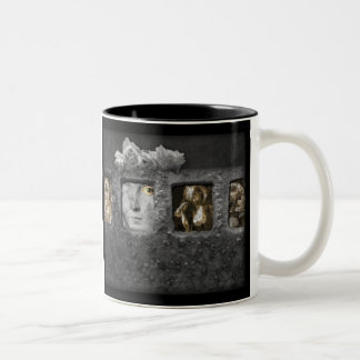 Shadow Box Digital Collage by A E Ivey Mug