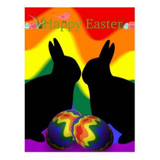 Shadow Bunnies Postcard
