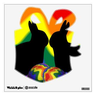 Shadow Bunnies Wall Sticker