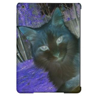 Shadow Cat in Lavender iPad Air Case