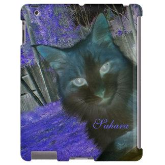 Shadow Cat in Lavender iPad Case