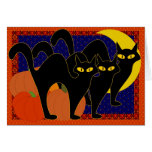 Shadow cats card