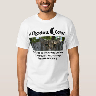 Shadow Cats Rescue T Shirt