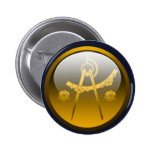 Shadow Cities - Architects Pinback Button